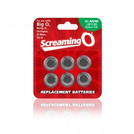 The Screaming O - Batteries Size AG-10