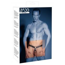 Men's Thong Harness+Plug S/M