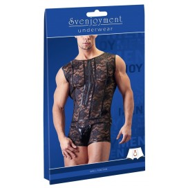 Vīriešu kostīmi un bodiji Kluba Seksīgie Erotiskie Men's Body lace S
