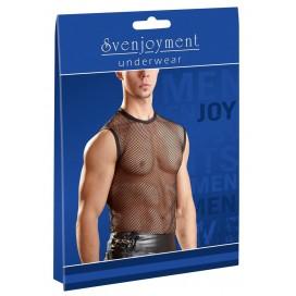 Erotiskie vīriešu krekli bodiji Seksīgie Men´s Net Shirt XL/2XL