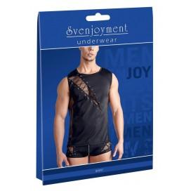 Erotiskie vīriešu krekli bodiji Seksīgie Men´s Shirt L