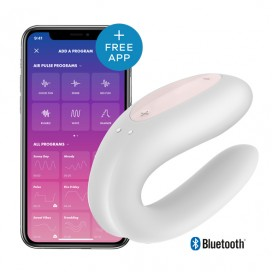 Satisfyer - Double Joy White