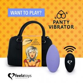 FeelzToys - Panty Vibe Remote Controlled Vibrator Purple