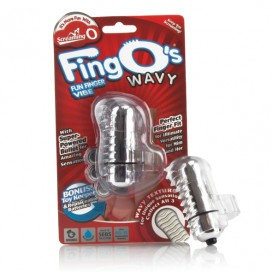 The Screaming O - The FingO Wavy Clear