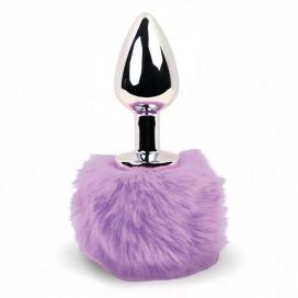 FeelzToys - Bunny Tails Butt Plug Purple