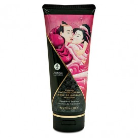 Shunga - Massage Cream Raspberry 200 ml