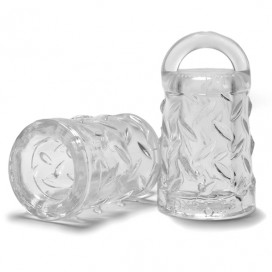 Oxballs - Gripper Nipple Puller Clear