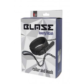 BLAZE COLLAR AND CHAIN BLACK