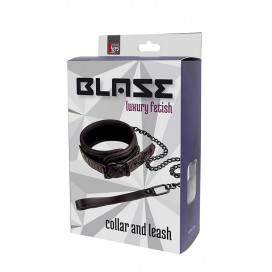 BLAZE COLLAR AND LEASH PURPLE
