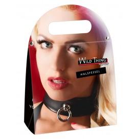 Bondage Collar black S-L