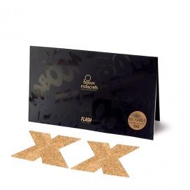 Bijoux Indiscrets - Flash Cross Gold