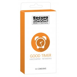 Condoms Secura Good Timer x 12