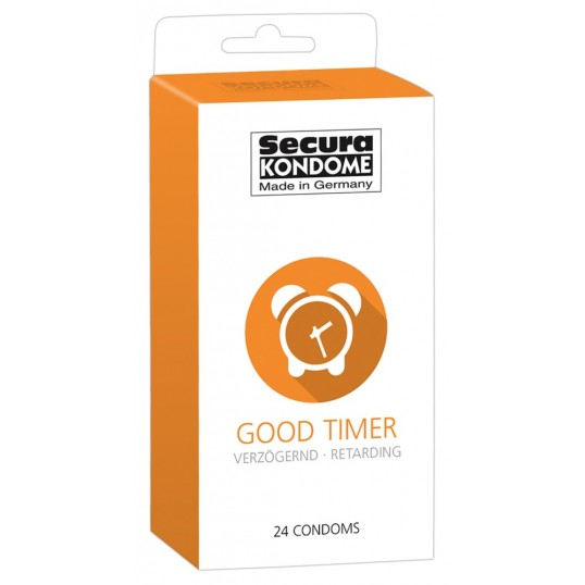 Condoms Secura Good Timer x 24 - Secura