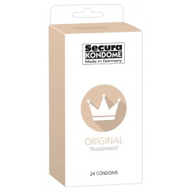 Condoms Secura Original x 24