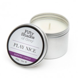 Fifty Shades of Grey - Play Nice Vanilla Candle 90 gram