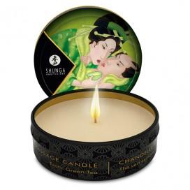 Masāžas svece Mini Shunga - Zaļā tēja 30 ml