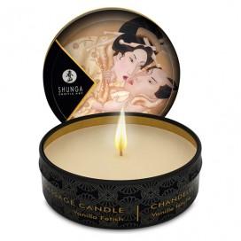 Masāžas svece Mini Shunga - Vaniļas fetiš 30 ml
