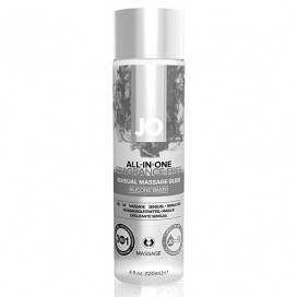 System JO - All-in-One Sensual Massage Glide Unscented 120 ml