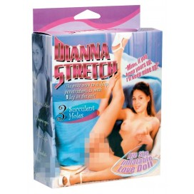Mīlas Seksa lelle realistiskā Dianna Stretch Love Doll