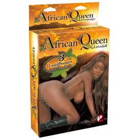 -1- Mīlas Seksa lelle realistiskā African Queen Melna