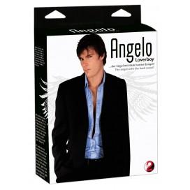 Mīlas Seksa lelle realistiskā Loverboy Angelo Liebespuppe
