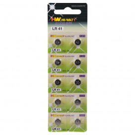10 LR41 Batteries