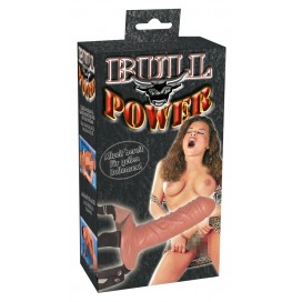 Strap-on Bull Power 15cm Skin color
