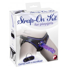 Strap-On Kit with blindfold