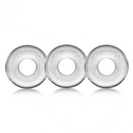 Oxballs - Ringer of Do-Nut 1 3-pack Clear