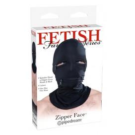 Sejas Maska ar Rāvejslēdzējiem Spandekss Fetish Fantasy Series