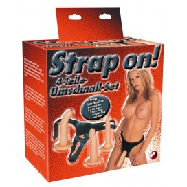 Seksa rotaļlietas komplekts Strap On!