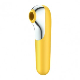 Satisfyer - Dual Love Air Pulse Vibrator Yellow