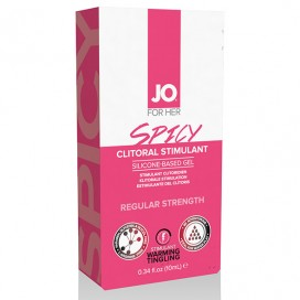 System JO - For Her Clitoral Stimulant Warming Spicy 10 ml
