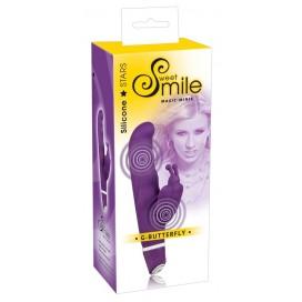 Vibrators ar klitora stimulatoru Smile G-Butterfly Vibrator