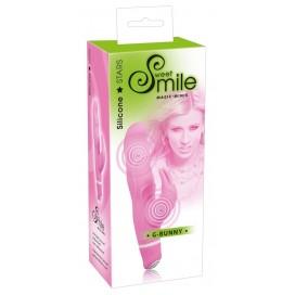 Vibrators ar klitora stimulatoru Smile G-Bunny