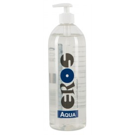 Lubrikants EROS Aqua 1L Uz Ūdens Bāzes