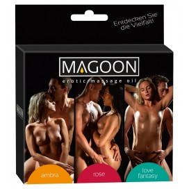 Erotic-Massage-Oil 3er-Set