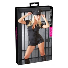 Erotiskie Intīmi spēļu kostīmi Police Jumpsuit L