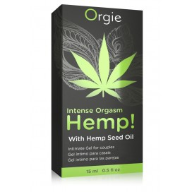 Stimulating gel Intense Orgasm Hemp 15ml