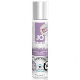 Atsvaidzinošs lubrikants System JO - For Her Agape Cool 30 ml