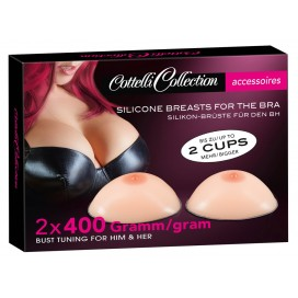 Erotic Sexy Jewelry & Accessories Silicone Breasts 400 g