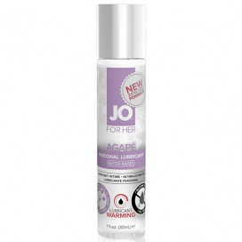 Lubrikants System JO - For Her Agape Sildošs 30 ml