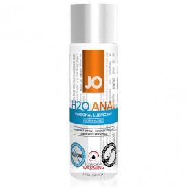 Lubrikants System JO - Anālais H2O Sildošs 60 ml
