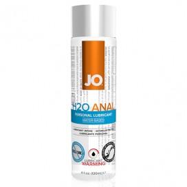 Lubrikants System JO - Anālais H2O Sildošs 120 ml