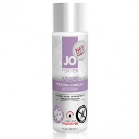 Lubrikants System JO - For Her Agape Sildošs 60 ml